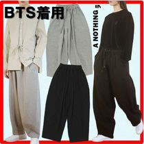 ★BTS 愛用/人気★A NOTHING★HEAVY-TERRY BALLOON SWEAT PANT.S