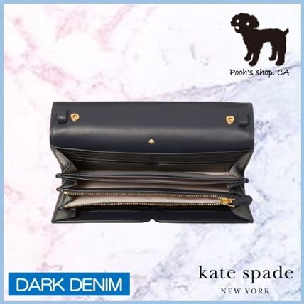 kate spade new york ショルダーバッグ・ポシェット 【Kate Spade】toujours denim chain clutch◆国内発送◆(5)