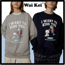☆送料・関税込☆Wai Kei★I WANT TO KISS YOU Sweatshirt.s★