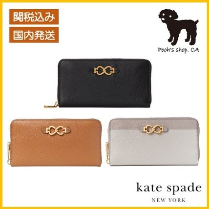 【Kate Spade】toujours zip-around wallet◆国内発送◆