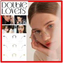 ★人気★DOUBLE LOVERS★CHEEK メガネ★