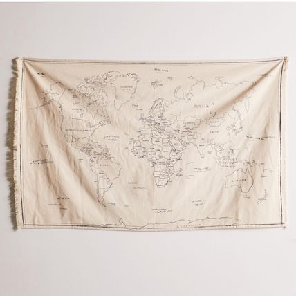 Urban Outfitters タペストリー ★Urban Outfitters★ 大人気♪ 世界地図 タペストリー★UO限定(2)