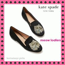 CAT LOVER *KATE SPADE*meow loafers ローファー