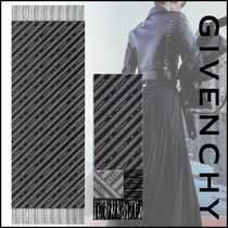 GIVENCHY 21 Spring ウール&カシミア チェーン スカーフ
