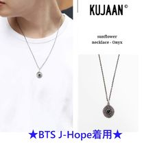 【KUJAAN】Sunflower necklace - Onyx ★BTS J-Hope着用★