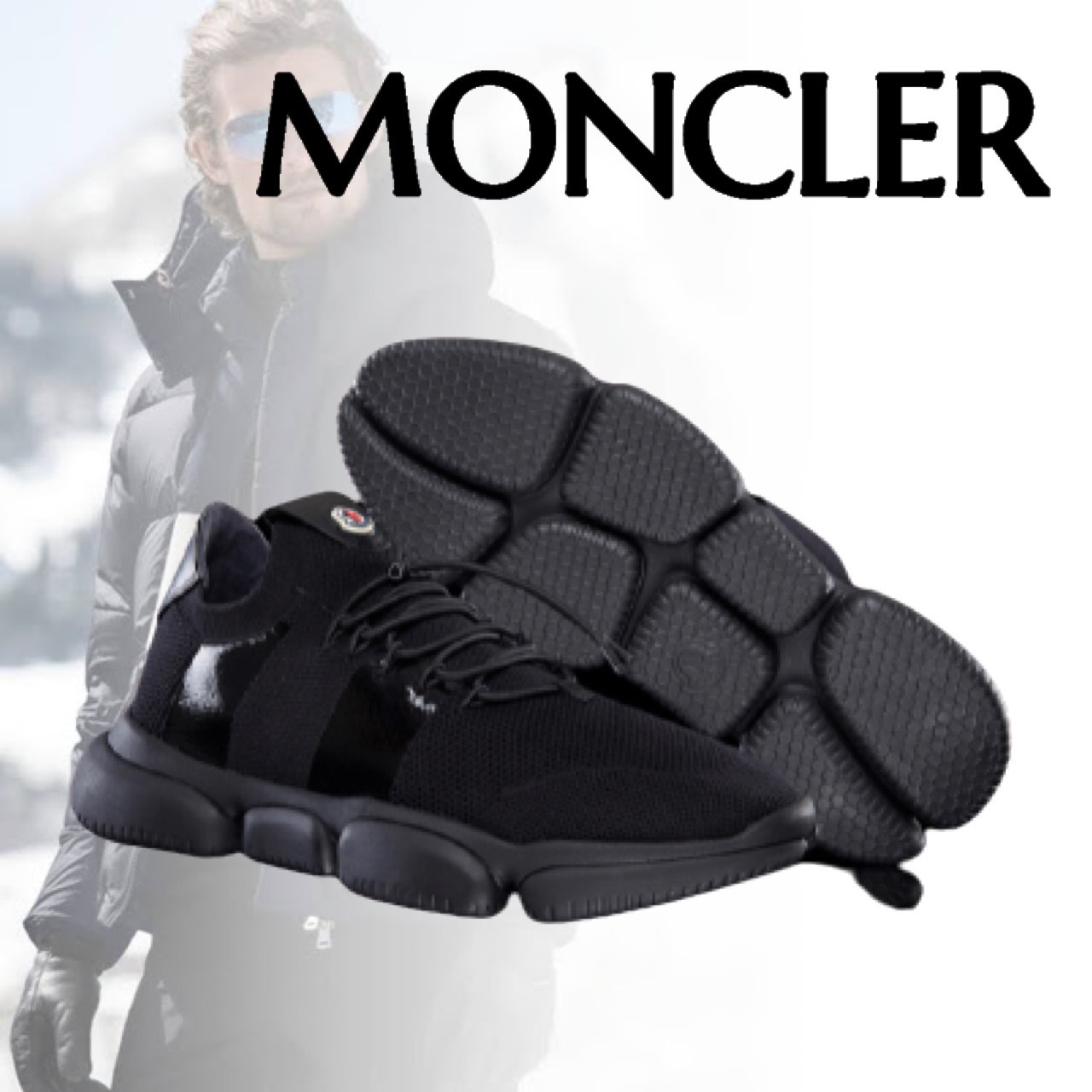 MONCLER モンクレール THE BUBBLE SNEAKER スニーカー ロゴ (MONCLER/スニーカー) 61637341
