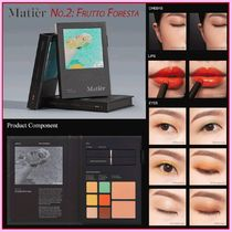 Matier(マティエ) アイメイク 韓国コスメ☆Matier☆マティエ ブック型パレット Frutto Foresta