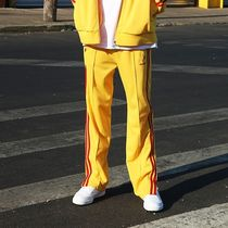 ★ NERDY ★ 韓国人気 ★ NY TRACK PANTS YELLOW/RED