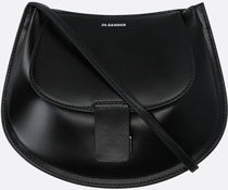 Jil Sander▲aw20 CRESCENT SMALL SMOOTH LEATHER CROSSBODY BAG