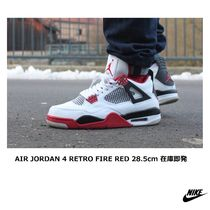 [NIKE] AIR JORDAN 4 RETRO FIRE RED 28.5cm 在庫即発