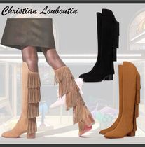 Christian Louboutin ◆ Boot Lion ◆ フリンジ ◆ ロングブーツ
