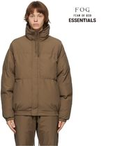 FOD ESSENTIALS Exclusive Brown PufferJacket 国内発送 正規品