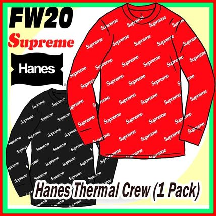 13 week FW 20 Supreme x Hanes Thermal Crew (1 Pack)