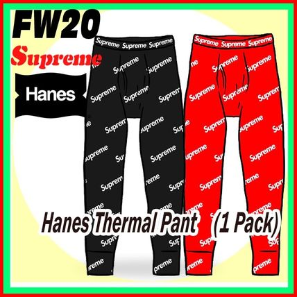 13 week FW 20 Supreme x Hanes Thermal Pant (1 Pack)