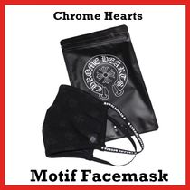 Chrome Hearts Motif Facemask Black / White  2020