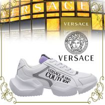 【VERSACE JEANS VIPSALE!!】FRAGMENTED SOLE SNEAKERS