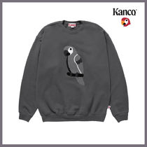 [KANCO]20FW●日本未入荷●FULL LOGO SWEATSHIRT charcoal