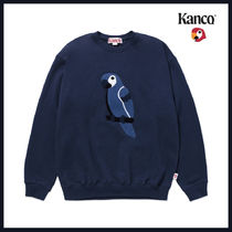 [KANCO]20FW●日本未入荷●FULL LOGO SWEATSHIRT navy
