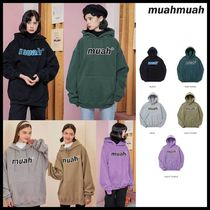 ●MUAHMUAH● COMBI DOUBLE NAPPING HOODIE フーディ 両面起毛