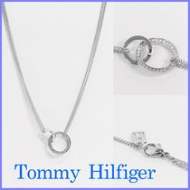 ★Tommy Hilfiger★ダブルリング ネックレス【送料込】