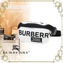 【BURBERRY VIPSALE!】FABRIC SONNY BELT BAG WITH PRINTED LOGO