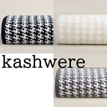 【kashwere】毛布 Houndstooth Throws & Blankets