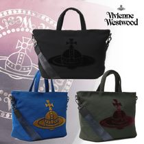 【Vivienne Westwood】クルーカットORB メンズトートバッグ