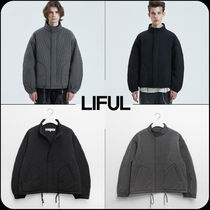 【 LIFUL 】★韓国大人気★QUILTED M-65 SHORT PARKA