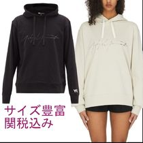 Y-3★M DISTRESSED SIGNATURE HOODIE★シグニチャーロゴフーディ