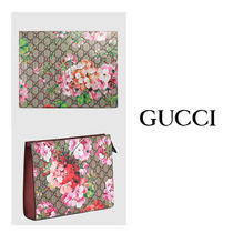 GUCCI グッチ GG Blooms large cosme case【送料0/国内即発】