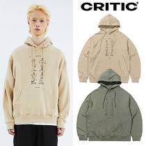 ★CRITIC★新作★送料込み★ロゴフーディ DANCING SCOUTS HOODIE
