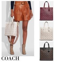 【完売必須】COACH*Field トート*Horse And Carriage Print♪