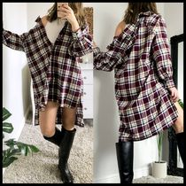 ASOS DESIGN oversized boyfriend mini shirt dress