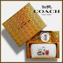 COACH☆Boxed Small Boxy Cosmetic Case コスメポーチ☆送料込