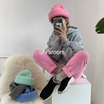 uni's room■4color フェイクシープスキンボアハット AC-AW20-04