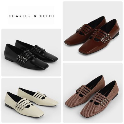 ★CHARLES&KEITH★Buckled Mary Jane Flats/送料込