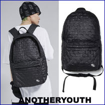 ANOTHERYOUTH★大人気 UNISEX★check padded backpack