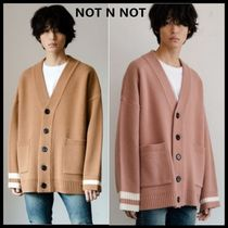 ☆NOT N NOT☆ カーディガン NOT REAL OVER FIT HEAVY CARDIGAN