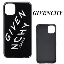 ≪GIVENCHY≫ ブラック Refractedロゴ iPhone11専用ケース
