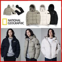 ◆NATIONAL GEOGRAPHIC◆Hooded short duck down jumper◆正規品