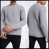 ASOS DESIGN chain cable knit jumper