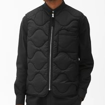 "ARKET(アーケット) ベスト・ジレ ""ARKET MEN"" Quilted Liner Vest Black"