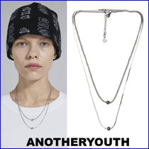 ANOTHERYOUTH★大人気 UNISEX★ 2 chain necklace