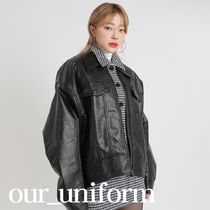 [our] Gemma Leather Jacket