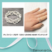 [Tiffany] PALOMA PICASSO LOVING HEART シルバーバンドリング
