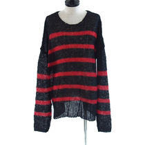 Other UK(アザーユーケー) ニット・セーター Other UK::ボーダー NAVARRO JUMPER:L/XL[RESALE]