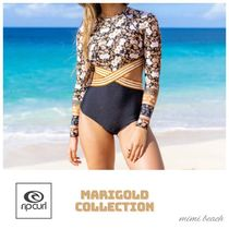 【送料・関税込み】〈RIP CURL〉Marigold Long Sleeve One piece