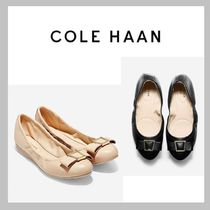 (15473) Cole Haan☆  Emory リボンレザーフラットシューズ