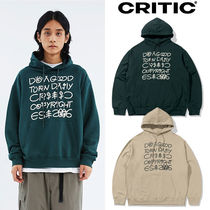 ★CRITIC★新作★送料込み★フーディ SCOUTS LETTERING HOODIE