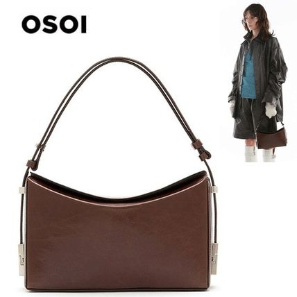 OSOIオソイ/送料込み/EMS発送/関税込み SANDY [WASHED BROWN]